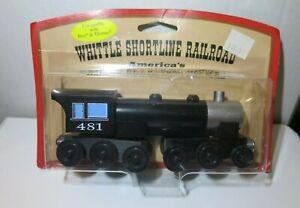 Whittle Shortline Railroad Steam Locomotive Model Train - 481 - New