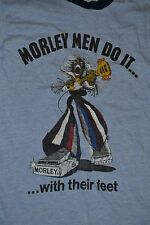 Vintage Morley Effects Pedal EVO WVO Wah Ringer T Shirt Medium Guitar Rock 70s