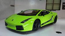 1:24 Echelle Vert Lamborghini Gallardo Superleggera Bburago Voiture Miniature