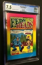 FEDS 'N' HEADS #1 (4th print) - CGC 7.5 / Print Mint