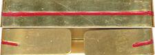 LEGION PARA, Galon métal, Adjudant chef ou Adjudant, doré, la paire, ( réf 4662)