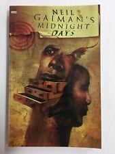 Neil Gaiman's Midnight Days Paperback 1999 DC Vertigo TPB Sandman Graphic Novel