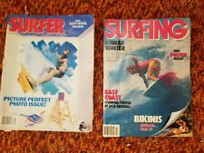 Vintage 80's Surfer and Surfing Magazines Lot 2 - Surf Ads and Bikini Edition