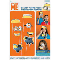Minions Photo Booth Props Party Decorations Birthday