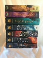 Rick Riordan - Heros of Olympus 1-5  and Kane Chronacles 1& 2 only
