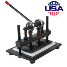 Usa Seller Manual Leather Cutting Machine Die Cut&Embossing Machines Ship Fast A