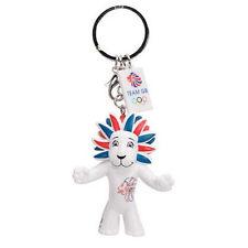 PRIDE THE LION - TEAM GB MASCOT KEYRING - LONDON 2012 OLYMPICS - NEW