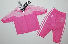 Adidas~Jogginganzug~USA~Gr.80~Jacke +Hose~Freizeitanzug~rosa~RED SOX~Baseball
