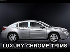 Chrysler Sebring Inoxidable Cromo Pilar Postes por Luxury Tapacubos 2007-2010