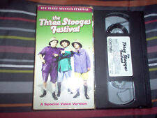 The Three Stooges Festival: A Special Video Version