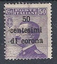 1919 TRENTO E TRIESTE EFFIGIE 50 CENT MH * - RR12204