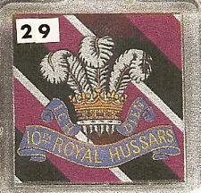 Acrylic Military Key Ring   10th. Hussars