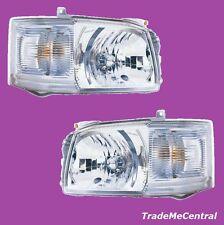 Right & Left Head Lights Pair Light for Toyota Hiace Van Bus LWB Commuter 05-09
