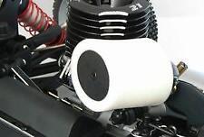 Filtre à air 1 / 8ème noir compact ovale double mousse avec coude silicone