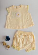 c7b31e7cf Conjuntos de ropa de manga corta de 100% algodón de 0 a 3 meses para ...