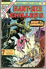 Giant-Size Chillers #3-1975 vg Giant Size Bernie Wrightson last issue