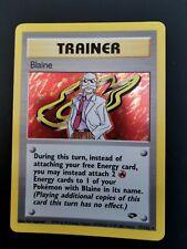 Blaine 17/132 Gym Challenge Set Holo Rare Pokemon Card