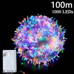 Twinkling star led fairy string lights 100M 1000LEDs Plug in Christmas Tree Xmas