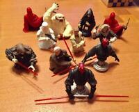 STAR WARS Gentle Giant Mini Bust up Statue 11 Figure set 5cm Collectible Rare C3