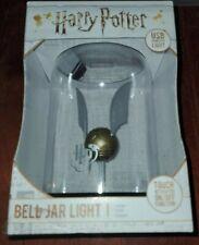 Official Harry Potter: Golden Snitch - Bell Jar Light Touch Lamp