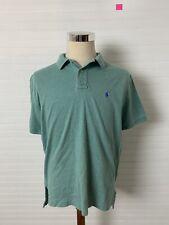 New listing Polo Ralph Lauren Polo Shirt Men's Medium Short Sleeve Green Cotton