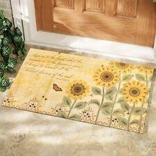 LANG Sunflowers Decorative Door Mat Artwork By Wendy Bentley