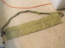 US Issue KW Era to Early VN era M1 Carbine Bandoleer, 6 pocket type