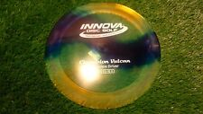 new Vulcan Champion 172 I-Dye yellow distance driver Innova disc golf