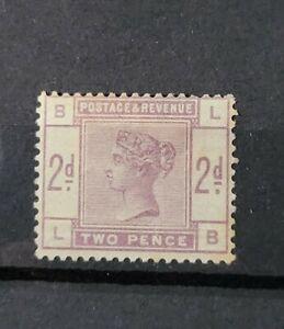 GB QUEEN VICTORIA SG 189 2D LILAC M/MINT