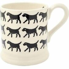 Emma Bridgewater Half Pint Mug Indian Spongeware Collectors Sample Day Lynsey 100% High Quality Materials Pottery Pottery, Porcelain & Glass