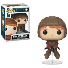 Figurine Funko Pop - Vinyl Harry Potter - 54 Ron Weasley avec Balai - Neuf