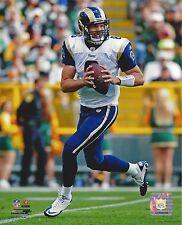 SAM BRADFORD 8X10 PHOTO ST LOUIS RAMS PICTURE NFL FOOTBALL DROPING BACK