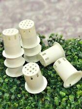 "50 x 2"" INCH HYDROPONICS BABY PLANT POT BASKET CUP GROW PERLITE & SPONGE CLAY"