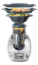 Vorwerk thermomix tm5 robot de cocina-varoma sin Cook-Key con gleitbrett