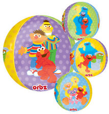 "SESAME STREET BALLOON 16"" ORBZ ULTRASHAPE BALLOON WITH FOUR DIFFERENT IMAGES"