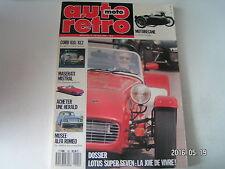 **b Auto Moto Rétro n°105 Cord 810/812 / Lotus Super Seven / Musée Alfa Roméo