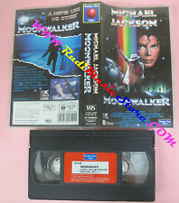 VHS MICHAEL JACKSON Moonwalker 1993 NUMBER ONE VIDEO no cd lp dvd mc (VM4)
