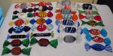 29 Murano Glass Candies Candy Multi Color Multi Shape 3""