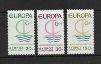 Cyprus #275-277 MNH CV$4.75