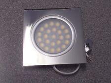 Caravan motorhome flush fitting 12V LED square downlighter spot light lamp PDL2