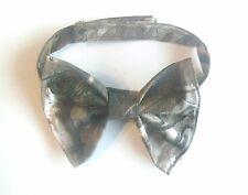 Camo Bowtie Ring bearer Bow tie Clip on Wedding Groomsmen Gift