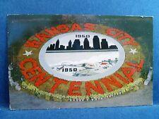 Postcard MO Kansas City 1950's Centennial Spring Flower Festival Flower Emblem