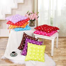 Fashion Soft Home Office Square Cotton Polka Dot Buttocks Chair Cushion Pads New