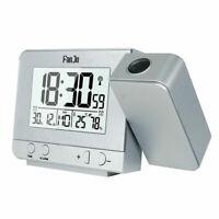 FanJu FJ3531 USB Charger Temperature and Time Projection Alarm Clock Adjustable