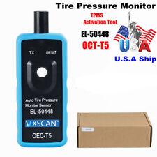 US Ship No Tax OEC-T5 Pressure Monitor TPMS Tire EL-50448 OBD2 Diagnostic Tool