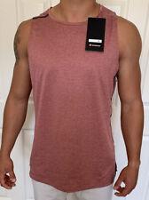 Lululemon Mens Size XL Fast Free Singlet Elite Red HCRT/CHRT Tank Sleeveless