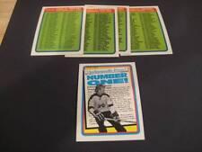 1990/91 O-Pee-Chee OPC Hockey Checklist Set of 4 Plus Bonus