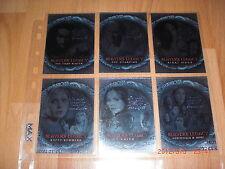 Buffy Season 7 Chase Set sl1-6 + 9er Pocket pages