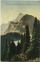 Postcard Gould Mountain Grinnell Lake Glacier Park Montana MT Northern Railway