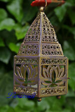 Orientalische Laterne 'Lotus' Stimmungsvoller Teelichthalter